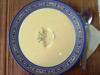 Supa crema de lamaie